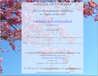 Lakelands - Gift Certificate